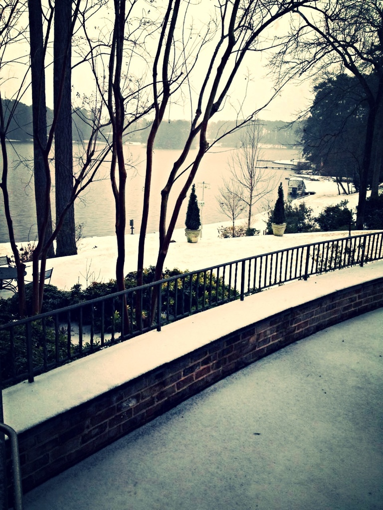 Snow in South Carolina